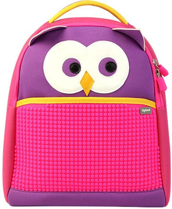 Upixel Детский рюкзак Сова80877Розово-фиолетовая совушка, словно сказочный персонаж сошедший с экрана какого-нибудь красочного мультика. Рюкзак для девочек, под прогулку или в школу, станет ежедневным ярким аксессуаром, который будет приметен каждой подружке или прохожему вызывая улыбку на лице. И плюс ко всему совушку всегда можно оформить собственной идеей или готовыми картинками из соответствующего набора T-M09 (приобретается отдельно). В комплекте: маленькие пиксели (фишки) разноцветные, 120 шт. Фирменный буклет с возможными вариантами изображений