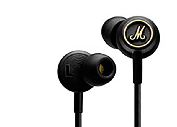 Marshall Mode EQ, Black наушники + Comply15119805Комплект: Вставные наушники Marshall Mode EQ + Подарок Сменные амбушюры COMPLY T-400 (3 шт в комплекте)