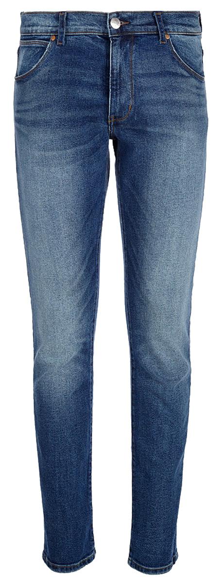 Джинсы мужские Wrangler Larston, цвет: синий. W18SHM18Y. Размер 33-34 (48/50-34)