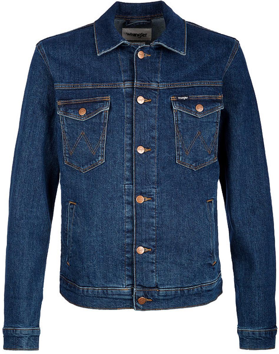Куртка мужская Wrangler, цвет: синий. W44323090. Размер XL (52)