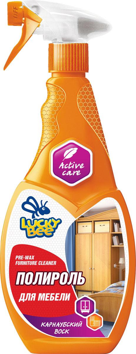 Полироль-очиститель для мебели Lucky Bee, 473 млLB 7506Полироль для мебели Lucky Bee Карнаубский воск придает обработанной поверхности блеск и ухоженный внешний вид, восстанавливает и выравнивает структуру дерева, предотвращая дальнейшее распространение микротрещин, создает ровный защитный слой.