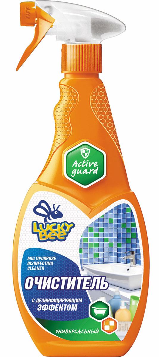 Очиститель дезинфицирующий Lucky Bee, универсальный, 473 млLB 7504Очиститель Lucky Bee эффективно удаляет загрязнения и уничтожает болезнетворные бактерии, микроорганизмы, грибки и вирусы на твердых поверхностях, обладает длительным противомикробным действием, устраняет неприятные запахи и оставляет приятный аромат после применения. Эффективно очищает межплиточные швы и оконные рамы.