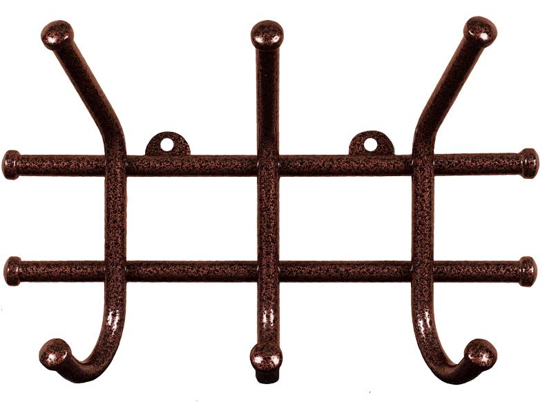 Вешалка настенная ЗМИ Норма, 3 крючка, 23 х 8 х 16,8 смВН 64 МНастенная вешалка ЗМИ Норма 3 изготовлена из прочного металла с полимерным покрытием. Изделие оснащено 4 крючками для одежды. Вешалка крепится к стене при помощи двух шурупов (не входят в комплект). Вешалка ЗМИ Норма 3 идеально подходит для маленьких прихожих и ограниченных пространств.