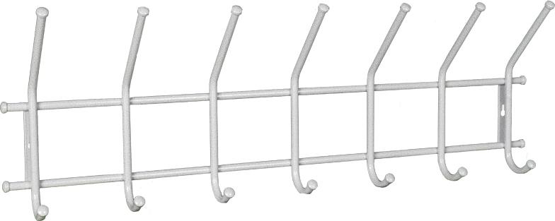 """Вешалка """"Радуга 2"""" подойдет для размещения вашего гардероба. Альтернатива шкафу в спальне, детской и прихожей. Разборная конструкция  позволяет приобрести данное изделие в коробке. Металлическая вешалка надежна и проста в уходе. Данное изделие полностью безопасно в  использовании. Материал: труба диаметром 18 мм., труба диаметром 12 мм.; стальные шарики; полимерно-порошковое покрытие."""