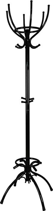 Вешалка напольная ЗМИ ПрестижВНП 199 ЧВешалка -стойка ЗМИ Престиж гармонично впишется почти в любой интерьер. Напольная вешалка обладает повышенной функциональностью.Конструкция изделия состоит из 6 верхних крючков, 6 нижних крючков, 4 крючков в центре и устойчивых опор. Также имеется место под зонты и сумки. Материал: Стальная труба диаметром 10, 16, 22, 40 мм; стальные колпачки; пластиковые заглушки; полимерно-порошковое покрытиеКонструкция: Разборная, состоит из 2-х сварных частей, стыкуется по центру.