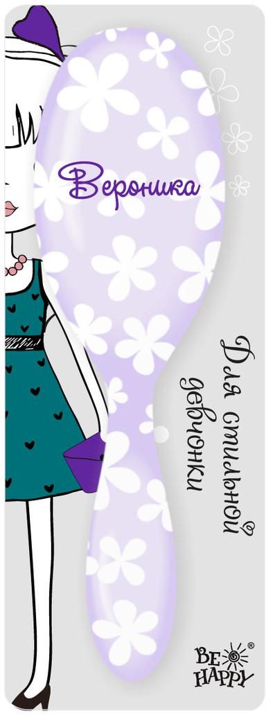 Be Happy Расческа массажная Вероника. HBN036HBN036Стильная детская расчёска от Би-Хэппи дарит радость и комфорт. Этот практичный аксессуар по достоинству оценят как маленькие модницы, так юные стиляжки.