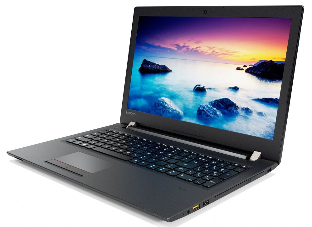 Lenovo V510-15IKB, Black (80WQA01GRK)80WQA01GRKНоутбук Lenovo V510-15IKB Core i5 7200U/4Gb/SSD256Gb/DVD-RW/AMD Radeon 530 2Gb/15.6/FHD (1920x1080)/Windows 10 Professional 64/black/WiFi/BT/Cam