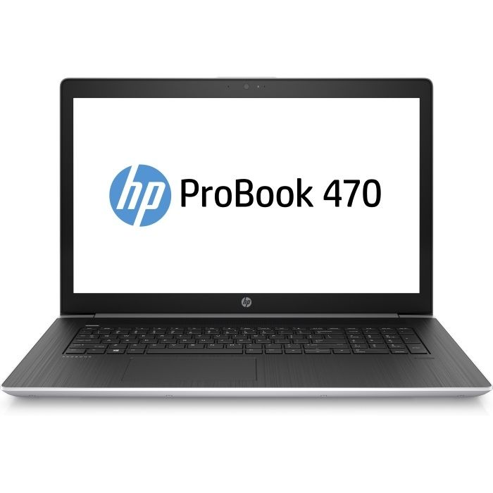 HP ProBook 470 G5, Silver (2RR74EA)2RR74EAНоутбук HP ProBook 470 G5 Core i5 8250U/4Gb/500Gb/nVidia GeForce 930MX 2Gb/17.3/SVA/HD+ (1600x900)/Windows 10 Professional 64/silver/WiFi/BT/Cam