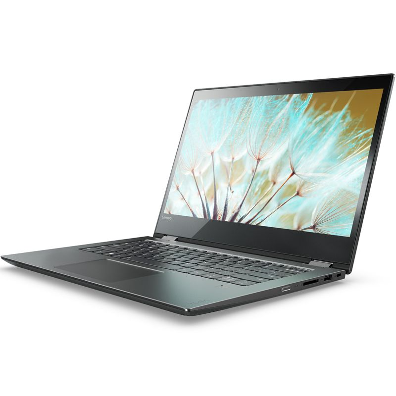 Lenovo Yoga 520-14IKBR, Black (81C8003SRK)81C8003SRKТрансформер Lenovo YOGA 520-14IKBR Core i5 8250U/8Gb/1Tb/Intel HD Graphics 620/14/IPS/Touch/FHD (1920x1080)/Windows 10/black/WiFi/BT/Cam