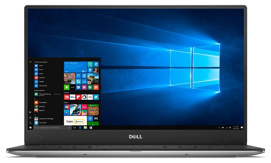 Dell XPS 13, Silver (9365-6225) ноутбук dell xps 13 9365 4429 intel core i5 7y54 1 2 ghz 8192mb 256gb ssd no odd intel hd graphics wi fi bluetooth cam 13 3 3200x1800 touchscreen windows 10 64 bit