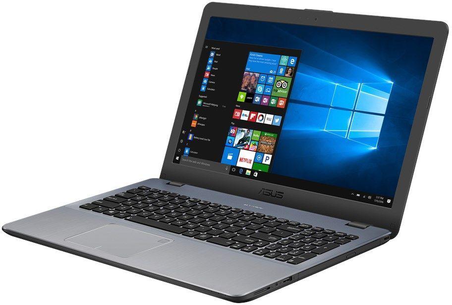 ASUS VivoBook X542UQ-GQ396T, Dark Grey (90NB0FD2-M06150) falmec quasar vetro parete 90 dark grey