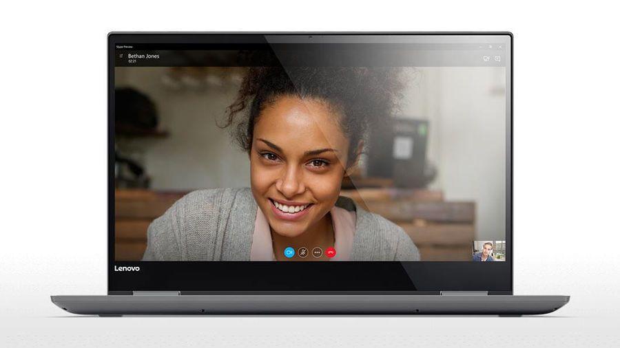 Lenovo Yoga 720-15IKB, Grey (80X70035RK)80X70035RKТрансформер Lenovo Yoga 720-15IKB Core i7 7700HQ/8Gb/SSD256Gb/nVidia GeForce GTX 1050 4Gb/15.6/IPS/Touch/FHD (1920x1080)/Windows 10/grey/WiFi/BT/Cam