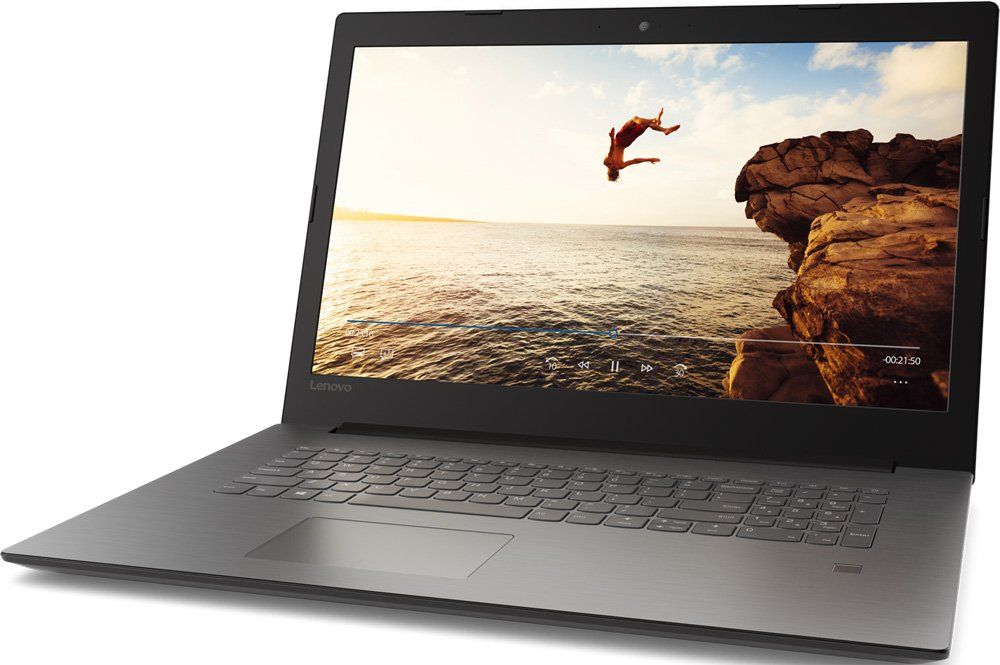 Lenovo IdeaPad 320-17IKBR, Black (81BJ003LRU)81BJ003LRUНоутбук Lenovo IdeaPad 320-17IKBR Core i7 8550U/8Gb/1Tb/DVD-RW/nVidia GeForce Mx150 4Gb/17.3/HD+ (1600x900)/Windows 10/black/WiFi/BT/Cam