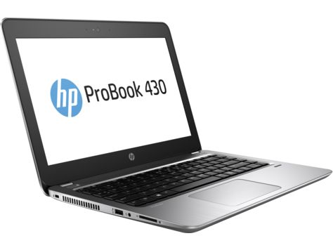 HP ProBook 430 G4, Silver (Y7Z27EA)Y7Z27EAНоутбук HP ProBook 430 G4 Core i3 7100U/4Gb/SSD128Gb/Intel HD Graphics 620/13.3/UWVA/HD (1366x768)/Windows 10 Professional 64/silver/WiFi/BT/Cam