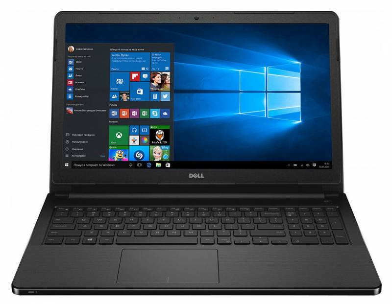 Dell Vostro 3568, Black (3568-7763) ноутбук dell inspiron 3558 core i3 5005u 4gb 500gb dvd rw intel hd graphics 5500 15 6 hd 1366x768 windows 10 home 64 black wifi bt cam 2700mah