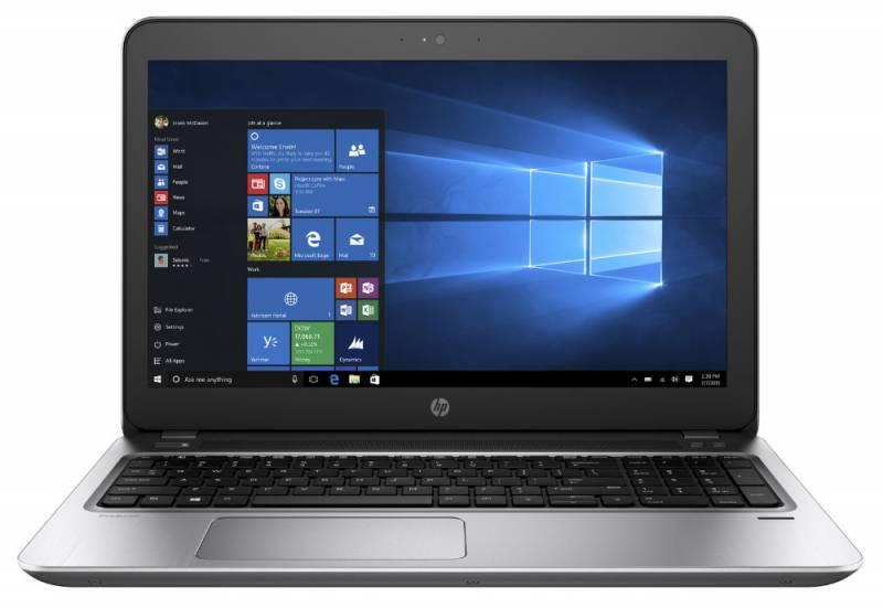 HP ProBook 450 G4, Silver (Y8A52EA)Y8A52EAНоутбук HP ProBook 450 G4 Core i3 7100U/4Gb/500Gb/DVD-RW/Intel HD Graphics 620/15.6/SVA/HD (1366x768)/Free DOS 2.0/silver/WiFi/BT/Cam