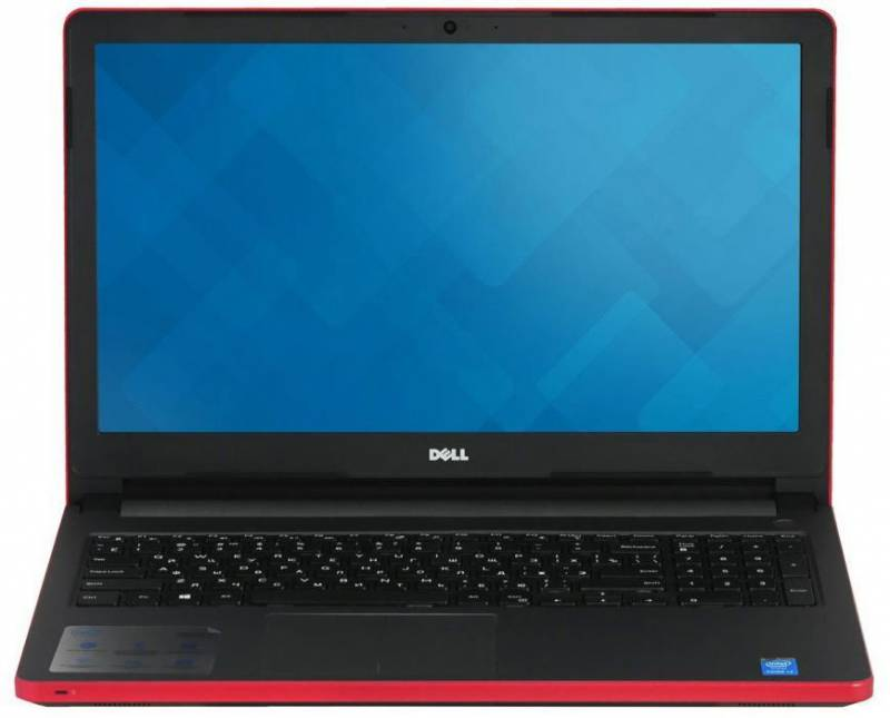 Dell Inspiron 5, Red (5-8062)5-8062Ноутбук Dell Inspiron 5 A6 9200/4Gb/500Gb/DVD-RW/AMD Radeon R5 M435 2Gb/15.6/HD (1366x768)/Windows 10/red/WiFi/BT/Cam