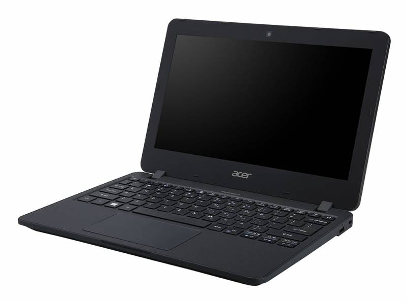 Acer TravelMate TMB117-M, Black (NX.VCHER.009)NX.VCHER.009Ноутбук Acer TravelMate TMB117-M Celeron N3060/4Gb/SSD32Gb/Intel HD Graphics 400/11.6/HD (1366x768)/Windows 10 Professional 64/black/WiFi/BT/Cam/3220mAh