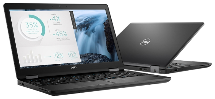 Dell Latitude 5580, Black (5580-9200)5580-9200Ноутбук Dell Latitude 5580 Core i5 7200U/8Gb/SSD256Gb/Intel HD Graphics 620/15.6/IPS/FHD (1920x1080)/Windows 10 Professional 64/black/WiFi/BT/Cam