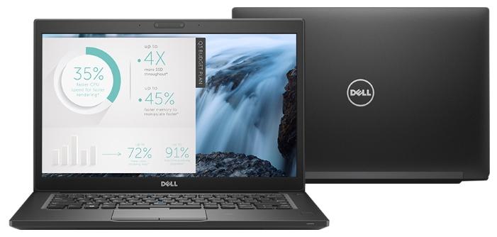 Dell Latitude 7480, Black (7480-8678) ноутбук dell xps 13 core i5 7200u 8gb ssd256gb intel hd graphics 620 13 3 ips fhd 1920x1080 windows 10 professional 64 silver wifi bt cam 4mah