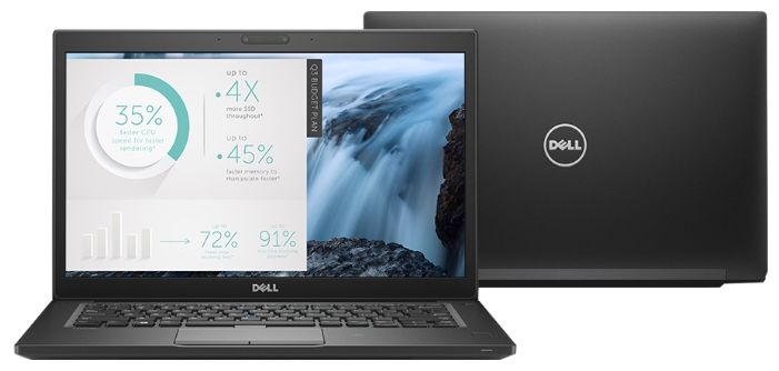 Dell Latitude 7480, Black (7480-8685) dell u2717da black