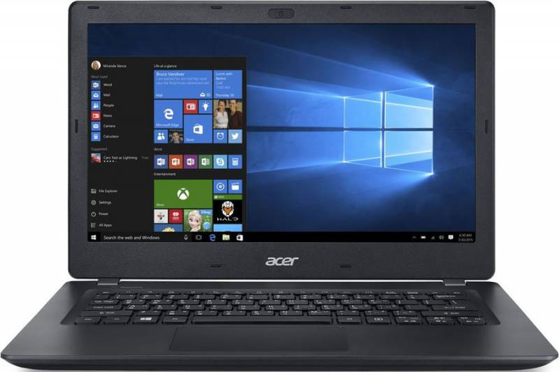 Acer TravelMate TMP238-M-P96L, Black (NX.VBXER.018)NX.VBXER.018Ноутбук Acer TravelMate TMP238-M-P96L Pentium 4405U/4Gb/500Gb/Intel HD Graphics 510/13.3/HD (1366x768)/Windows 10/black/WiFi/BT/Cam/3270mAh