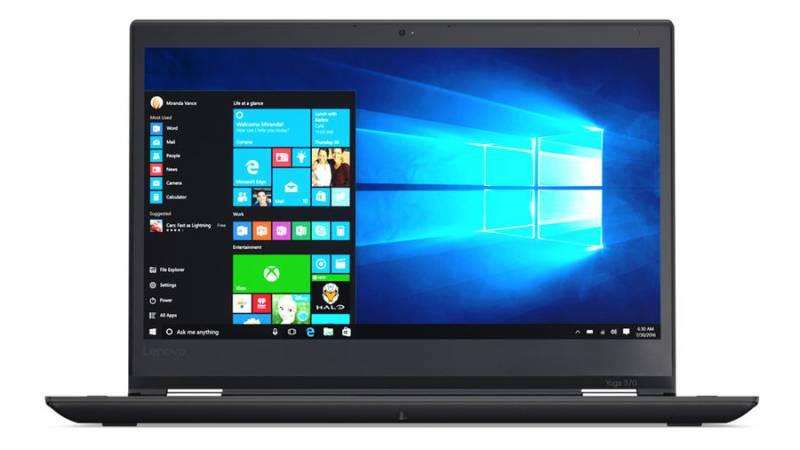 Lenovo ThinkPad Yoga 370, Black (20JH002KRT)20JH002KRTТрансформер Lenovo ThinkPad Yoga 370 Core i5 7200U/8Gb/SSD256Gb/Intel HD Graphics 620/13.3/IPS/Touch/FHD (1920x1080)/Windows 10 Professional/black/WiFi/BT/Cam