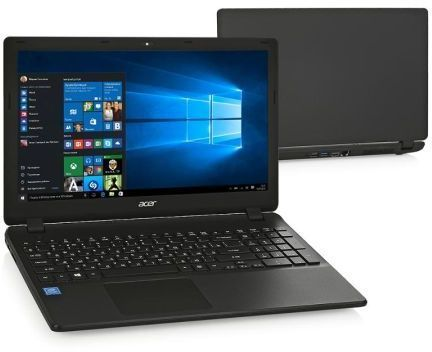 Acer Extensa EX2540-34YR, Black (NX.EFHER.009)NX.EFHER.009Ноутбук Acer Extensa EX2540-34YR Core i3 6006U/4Gb/500Gb/Intel HD Graphics 520/15.6/HD (1366x768)/Windows 10/black/WiFi/BT/Cam/3220mAh