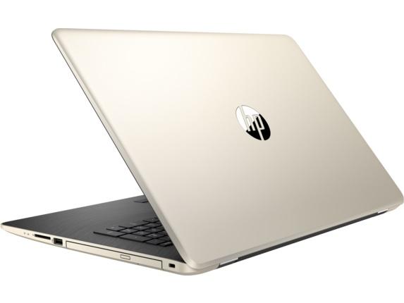 HP 17-ak042ur, Gold (2CP57EA)2CP57EAНоутбук HP 17-ak042ur A6 9220/4Gb/500Gb/DVD-RW/AMD Radeon 520 2Gb/17.3/SVA/HD+ (1600x900)/Windows 10 64/gold/WiFi/BT/Cam/2670mAh