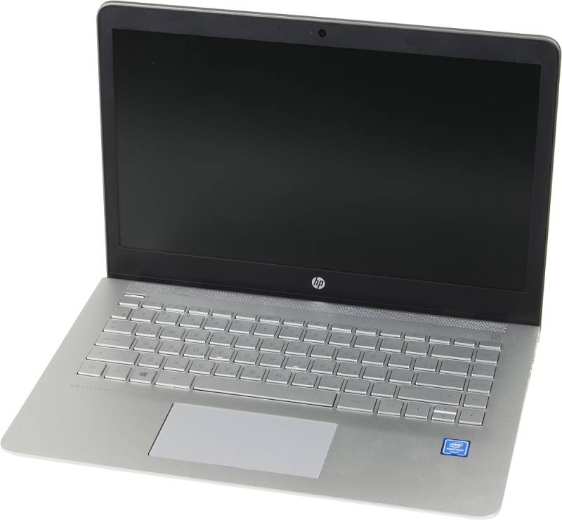 HP Pavilion 14-bk004ur, Silver (2CV44EA)2CV44EAНоутбук HP Pavilion 14-bk004ur Pentium 4415U/6Gb/1Tb/Intel HD Graphics 610/14/TN/HD (1366x768)/Windows 10 64/silver/WiFi/BT/Cam