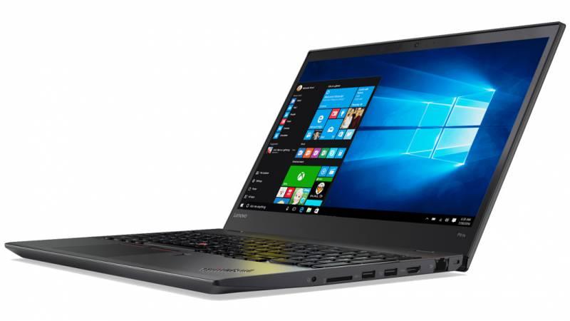 Lenovo ThinkPad P51s, Black (20HB000VRT)20HB000VRTНоутбук Lenovo ThinkPad P51s Core i7 7500U/8Gb/SSD256Gb/nVidia Quadro M520M 2Gb/15.6/IPS/FHD (1920x1080)/Windows 10 Professional/black/WiFi/BT/Cam