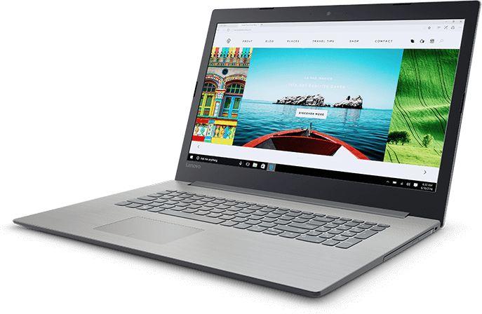Lenovo IdeaPad 320-17IKB, Grey (80XM0012RK)80XM0012RKНоутбук Lenovo IdeaPad 320-17IKB Core i5 7200U/8Gb/1Tb/DVD-RW/nVidia GeForce 940MX 4Gb/17.3/IPS/FHD (1920x1080)/Windows 10/grey/WiFi/BT/Cam