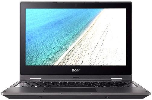 Acer TravelMate TMB118-R-C9JG, Black (NX.VFZER.001)NX.VFZER.001Ноутбук Acer TravelMate TMB118-R-C9JG Celeron N3350/4Gb/SSD32Gb/Intel HD Graphics 500/11.6/Touch/HD (1366x768)/Windows 10 Professional 64/black/WiFi/BT/Cam/3220mAh