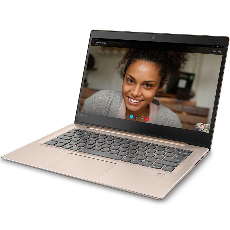 Lenovo IdeaPad 520S-14IKB, Bronze (80X200FBRK)80X200FBRKНоутбук Lenovo IdeaPad 520S-14IKB Core i3 7100U/8Gb/SSD128Gb/Intel HD Graphics 620/14/IPS/FHD (1920x1080)/Windows 10/bronze/WiFi/BT/Cam