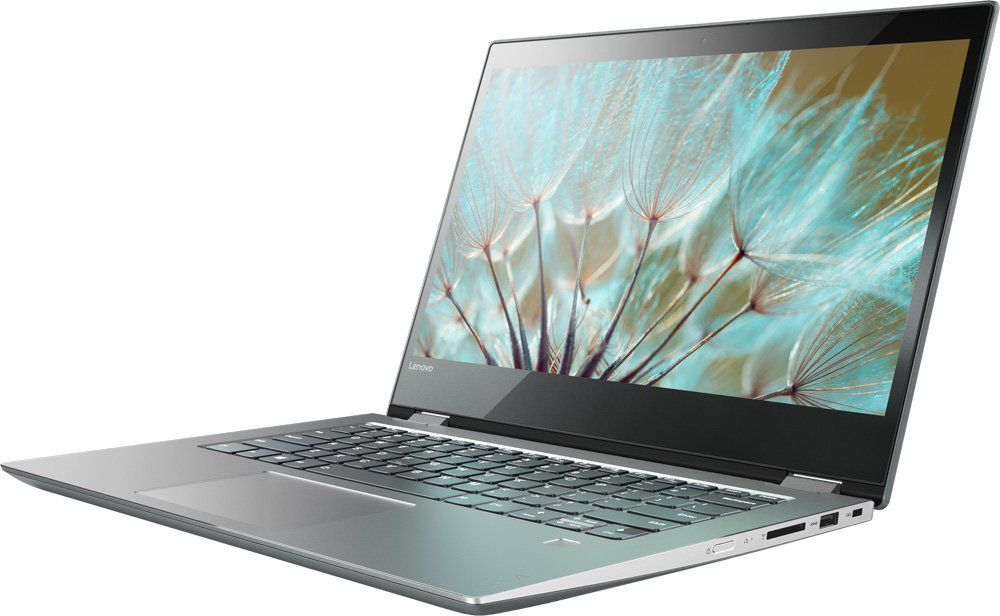 Lenovo Yoga 520-14IKB, Grey (80X8008TRK)80X8008TRKТрансформер Lenovo YOGA 520-14IKB Core i3 7100U/4Gb/SSD128Gb/Intel HD Graphics 620/14/IPS/Touch/FHD (1920x1080)/Windows 10/grey/WiFi/BT/Cam