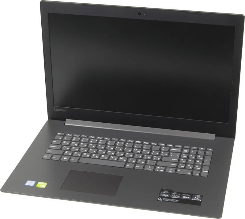 Lenovo V320-17ISK, Grey (81B6A002RK)81B6A002RKНоутбук Lenovo V320-17ISK Core i3 6006U/8Gb/SSD256Gb/DVD-RW/nVidia GeForce 920MX 2Gb/17.3/HD+ (1600x900)/Windows 10 Professional/grey/WiFi/BT/Cam