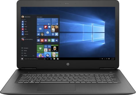 HP Pavilion Gaming 17-ab316ur, Black (2PQ52EA)2PQ52EAНоутбук HP Pavilion Gaming 17-ab316ur Core i5 7300HQ/8Gb/1Tb/DVD-RW/nVidia GeForce GTX 1050Ti 4Gb/17.3/FHD (1920x1080)/Windows 10/black/WiFi/BT/Cam
