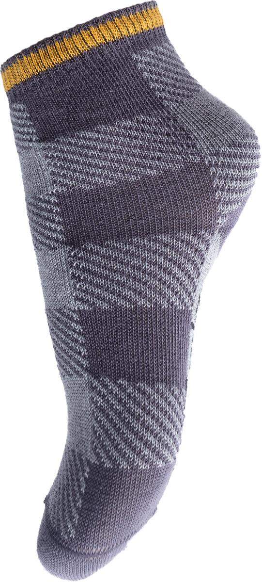 Носки для мальчика PlayToday Baby, цвет: серый, 2 пары. 187045. Размер 12187045Мягкие носки от PlayToday выполнены из натуральных материалов. Хорошо пропускают воздух позволяя коже дышать. Одна пара выполнена технике - Yarn Dyed - в процессе производства в полотне используются разного цвета нити. Изделие, при рекомендуемом уходе, не линяет и надолго остается в первоначальном виде. Вторая пара дополнена жаккардовым рисунком.В комплекте 2 пары носков.