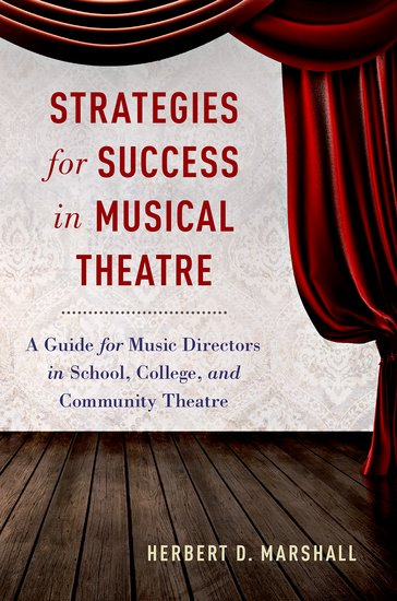 Фото Strategies for Success in Musical Theatre humorous organizing