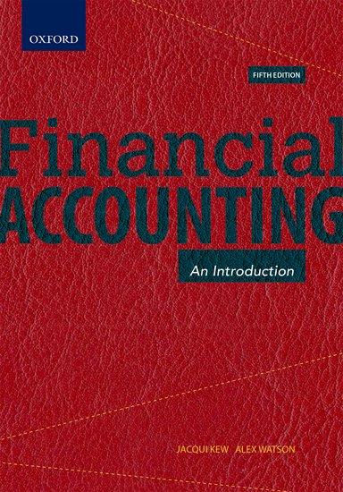 Financial Accounting principles of financial accounting