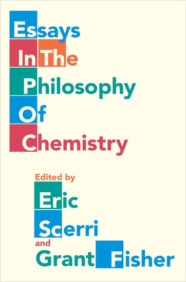 Essays in the Philosophy of Chemistry personification and the feminine in roman philosophy