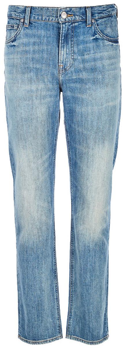 Джинсы мужские Lee Morton, цвет: синий. L788CDKI. Размер 34-34 (50-34) джинсы
