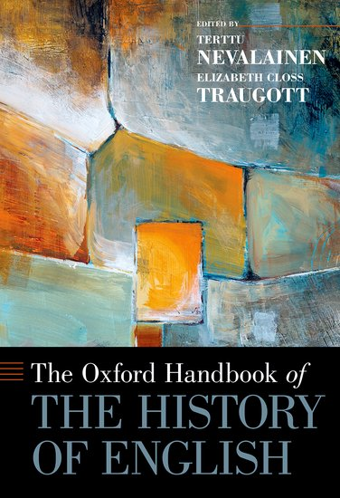 The Oxford Handbook of the History of English the new penguin atlas of recent history