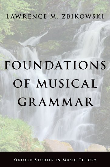 Foundations of Musical Grammar foundations of anthropolinguistics