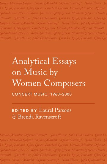 Analytical Essays on Music by Women Composers a history of western music 4e ise paper