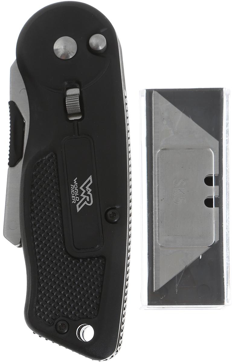 Нож макетный World Rider, с набором лезвий. WR 5010