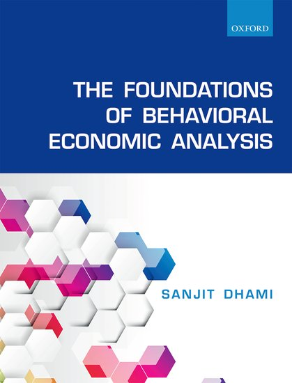The Foundations of Behavioral Economic Analysis palestinian economics its limitation and the prospect of success