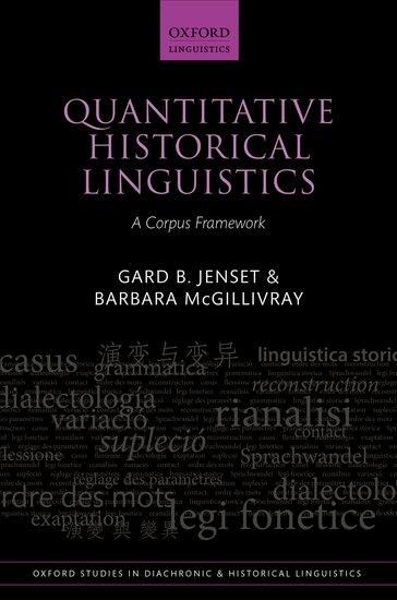 Quantitative Historical Linguistics clio in the italian garden – twenty–first century studies in historical methods and theoretical perspectives