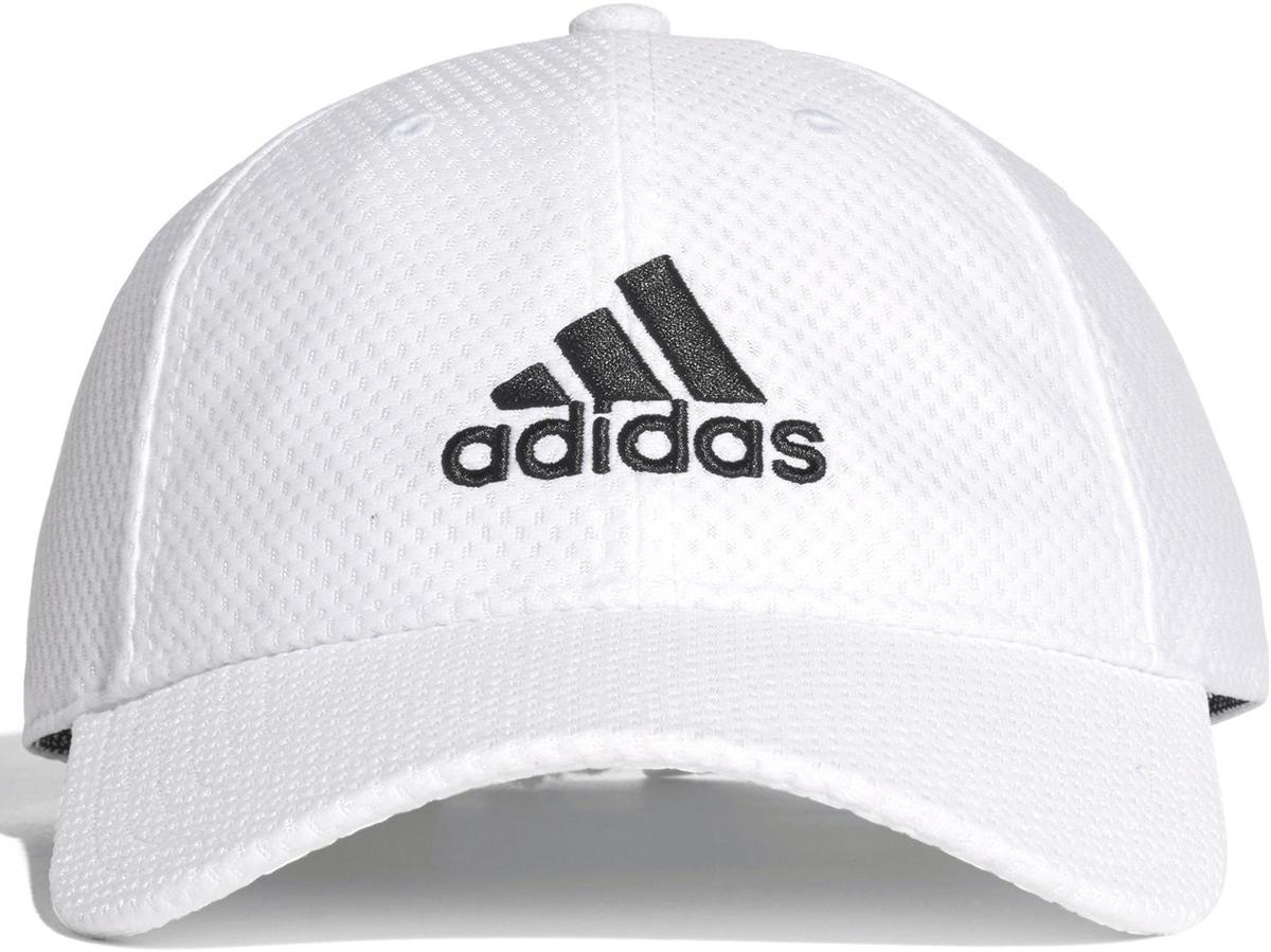 Бейсболка adidas C40 6P Clmco CA, цвет: белый. CG1787. Размер OSFW (54/56)CG1787Эта бейсболка от adidas оснащена технологией Sweatband, которая не пропускает влагу, чтобы помочь сохранить сухую бровь и дает дополнительную защиту от ультрафиолетового излучения. Регулируемая застежка позволяет полностью подстраиваться под вас.