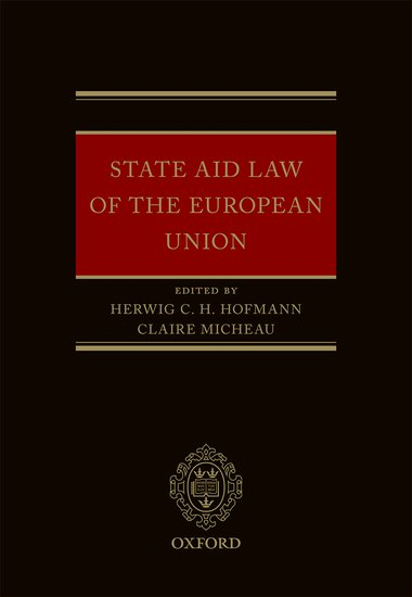 State Aid Law of the European Union отсутствует banking law and practice